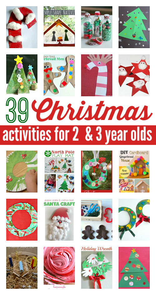 39 Christmas Activities For 2 And 3 Year Olds Christmas