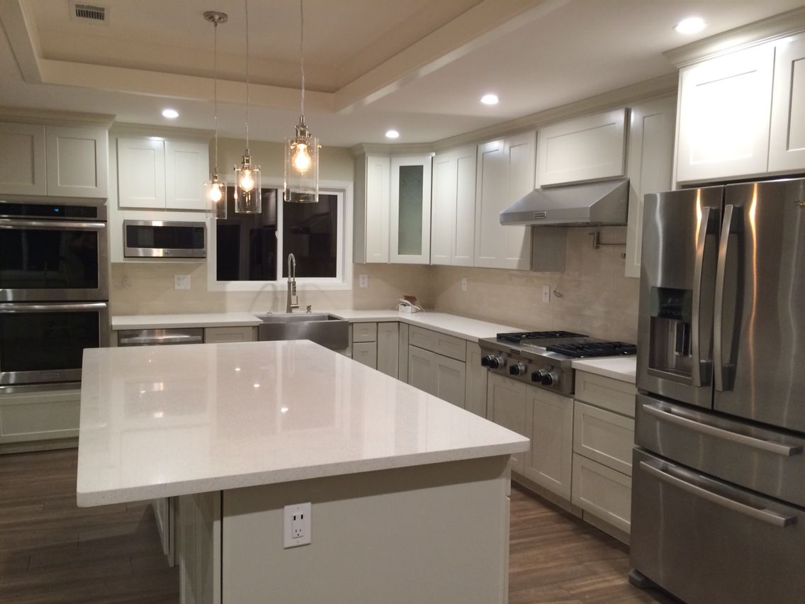 My kitchen after 4weeks, few more days & it's done.