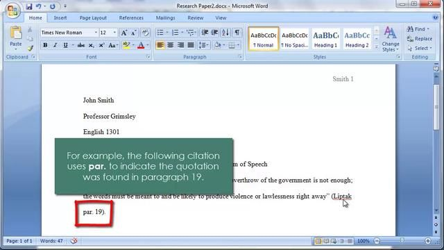 MLA: In-Text Citations by christina grimsley. This three minute video tutorial describes in-text citations and how they should be used when writing MLA-formatted academic papers.