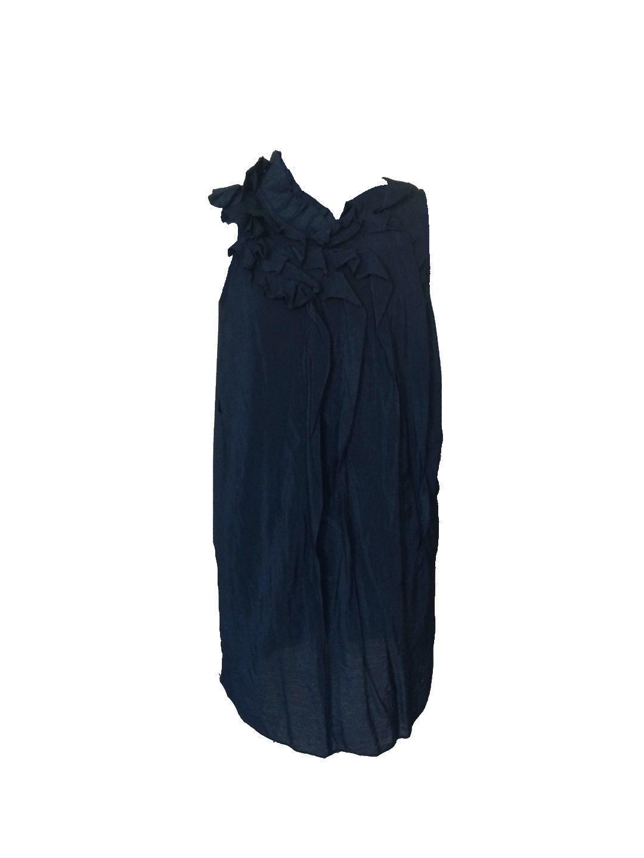 Size m ya los angeles black ruffle dress black ruffle ruffle