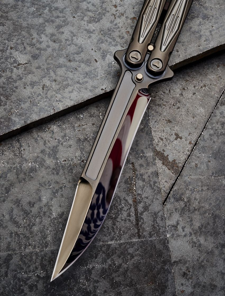 Microtech Tachyon Iii Balisong Butterfly Knife Knives