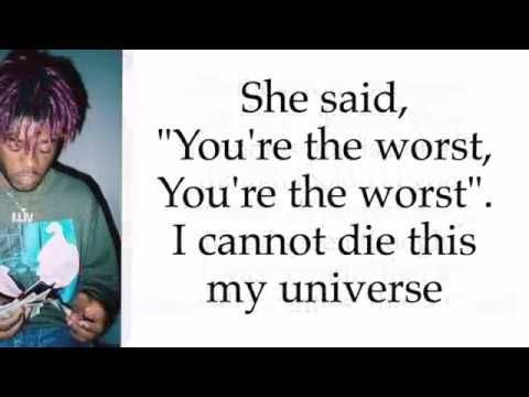 Lil Uzi Vert Quotes Unique Lil Uzi Vert  Xo Tour Life Lyrics  Goat ☝  Pinterest  Lil Uzi