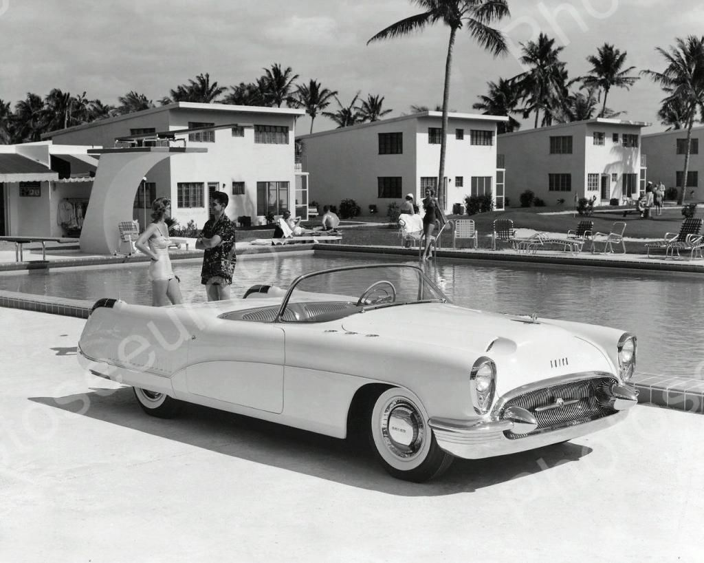 Buick Wildcat Automobile 1953 Vintage 8x10 Reprint Of Old Photo ...