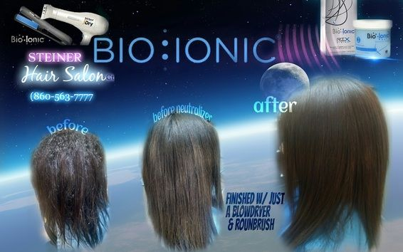 Picture Of Before And After Bioionic Permanent Hair Straightening