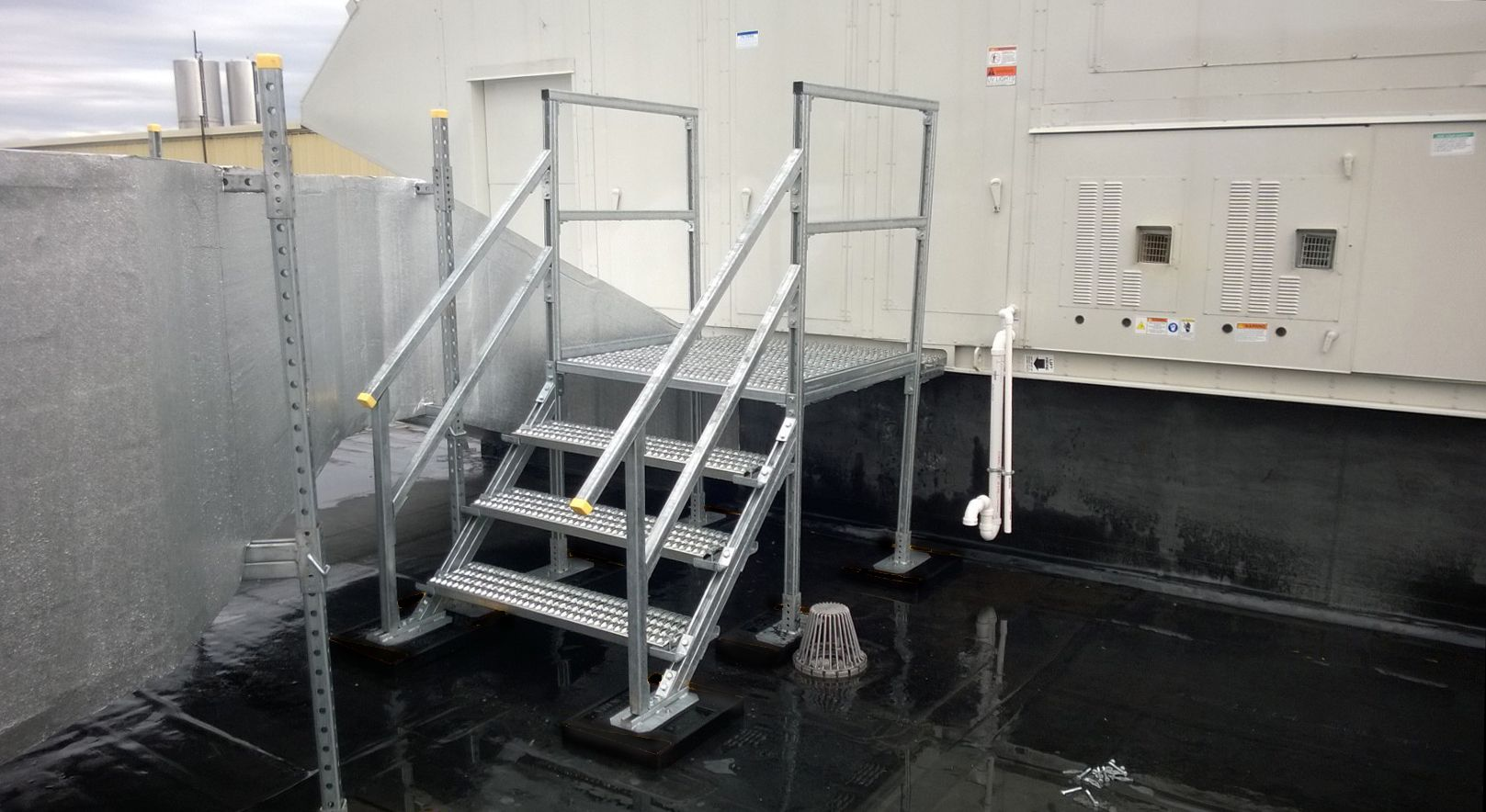 Access Platforms Give Workers Direct Access To Equipment Panels Doorways Other Access Points For Rooftop Hvac Condenser Units Other Rooftop Hvac Platform