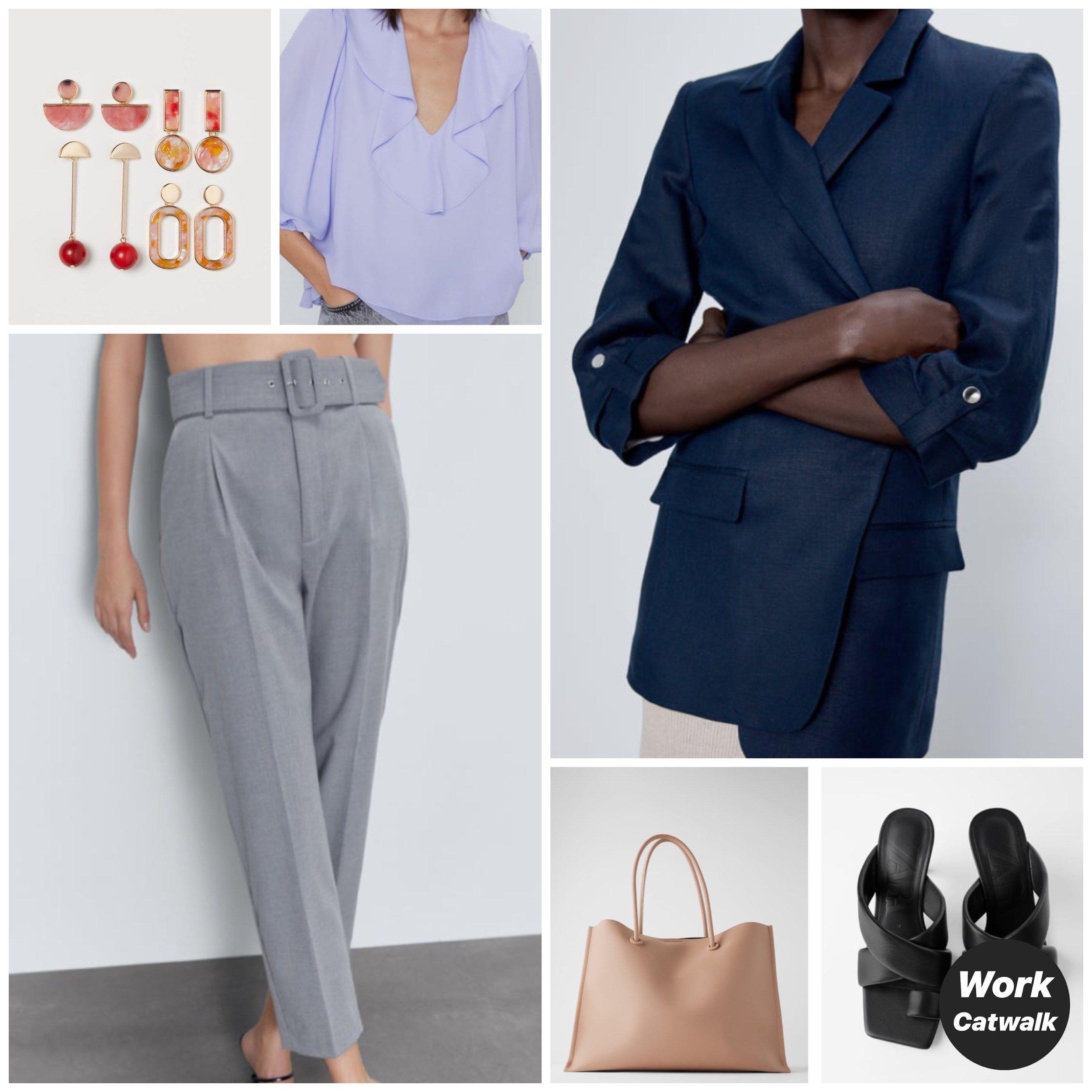 Navy Blue Blazer Capsule Wardrobe () – Work Catwalk // working capsule wardrobe / work capsule wardrobe summer