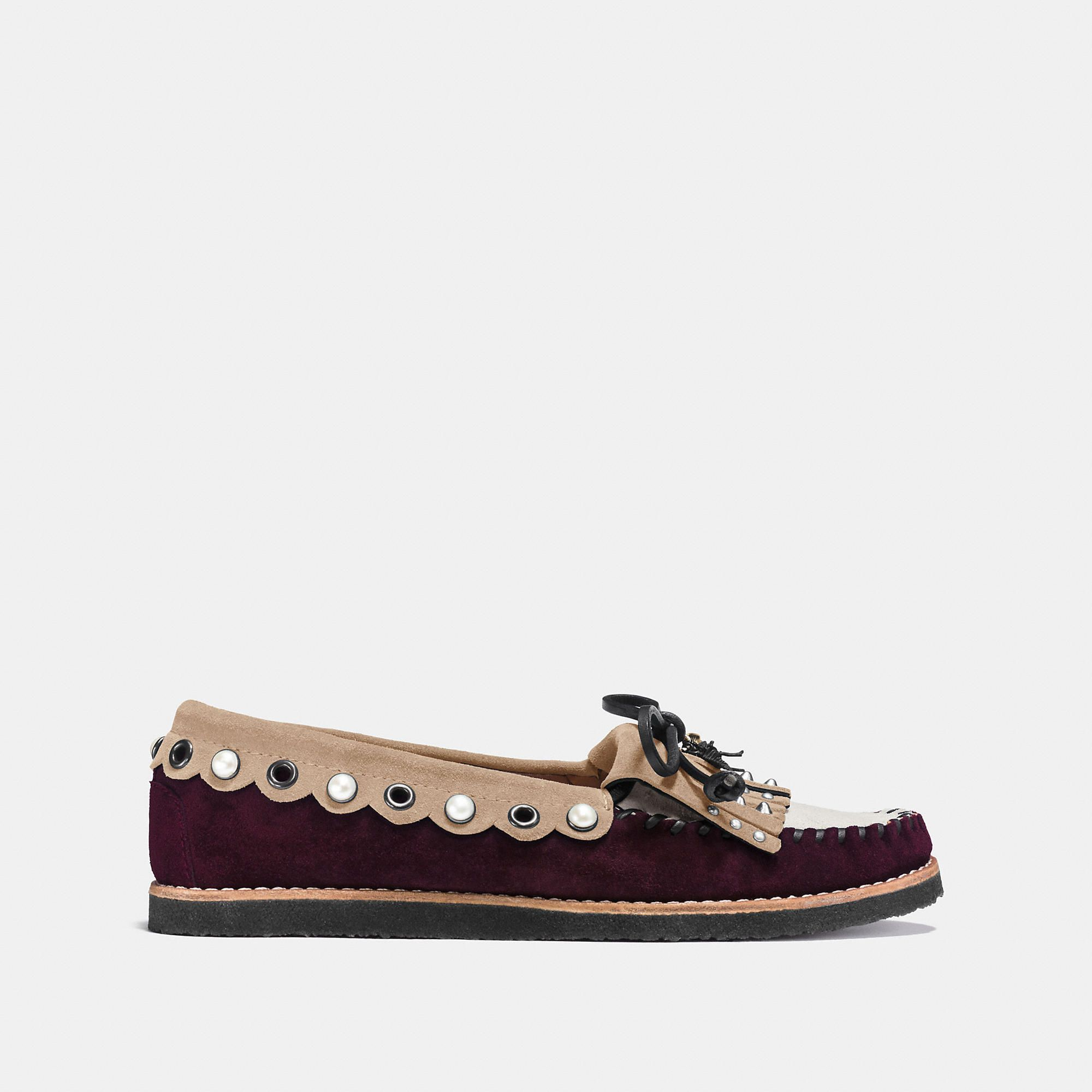 Coach Womens Roccasin Slip-On