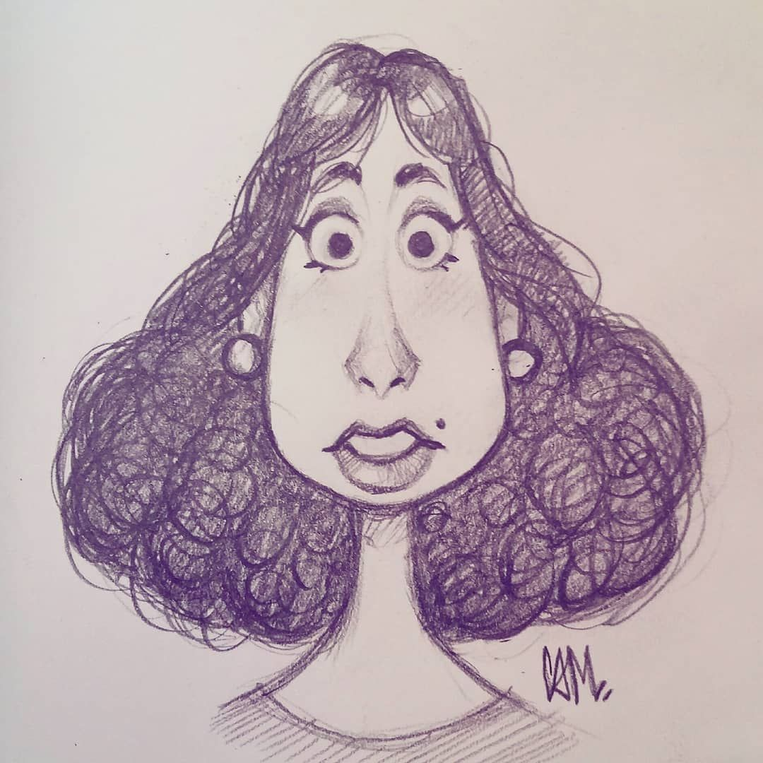 Playing With Face Shapes On My Lunch Break Sketch Doodle Art Illustration Drawing Cameronmarkart Drawing Face Shapes Anime Face Shapes Face Drawing
