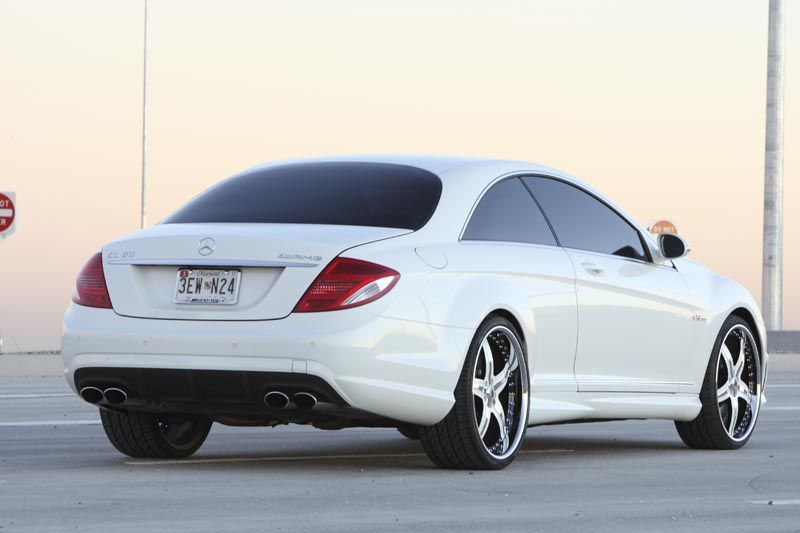 2009 mercedes cl63 amg asanti af156 5 star wheels 22 inch. Black Bedroom Furniture Sets. Home Design Ideas