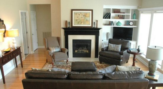 Furniture Layout And Home Decor Ideas Balance And Symmetry Kylie M Interiors Furniture Arrangement Small Living Room Furniture Living Room Furniture Layout