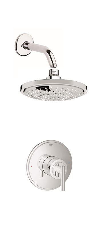 Grohe Gss Atrio Spb 01 Shower Heads Rain Shower Bathroom