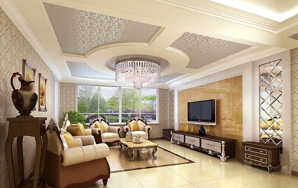 Classic Ceiling Decor For Living Room Interior Ideas Part 69