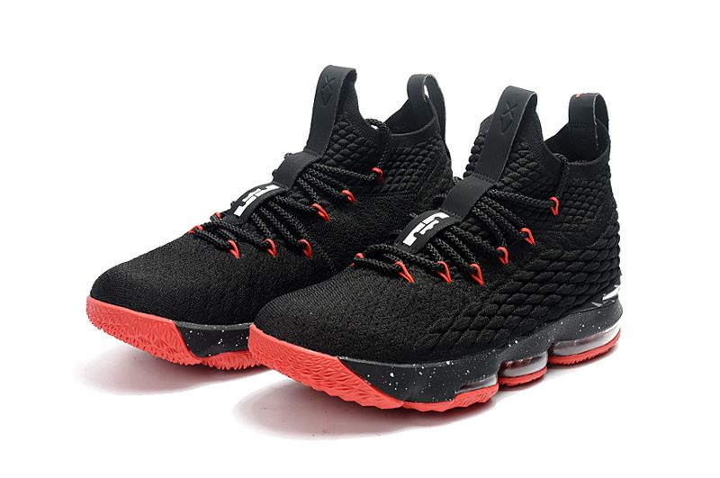 a5a08d61166 Official Cheap LeBron Shoes 2018 Lebron 15 XV Bred Black Red ...