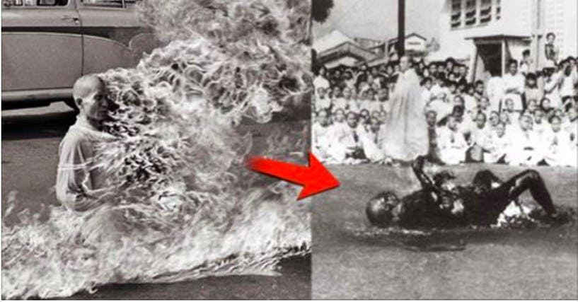In 1963, a Vietnamese monk committed self-immolation in ...
