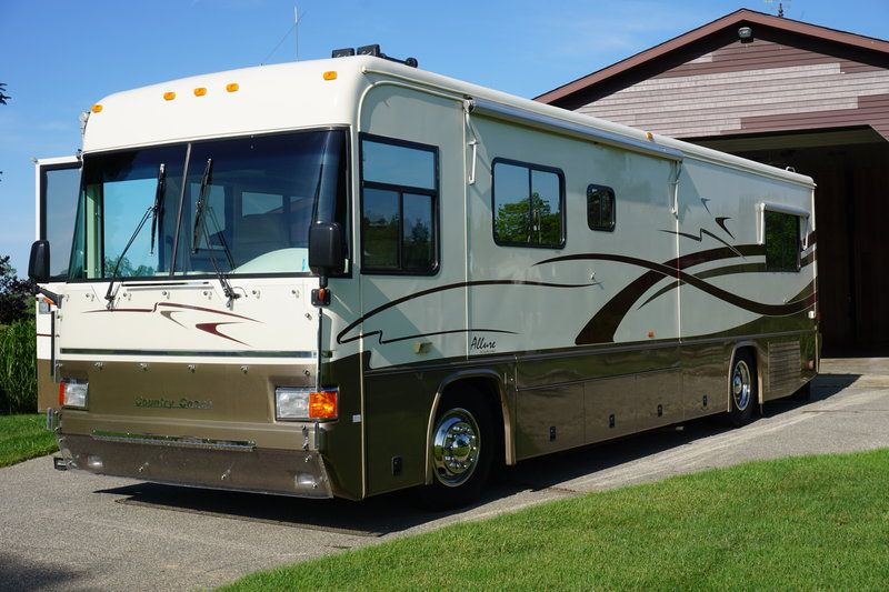 2007 Country Coach Sequoia Tribute 260 With Images Country Coach Recreational Vehicles