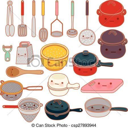 Resultado De Imagen Para Cocina Dibujos Kawaii Cocinas