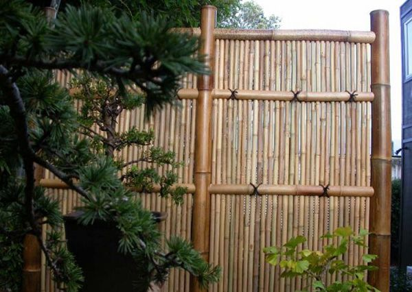 Privacy Fence Options Outdoor Alternatives Bamboo