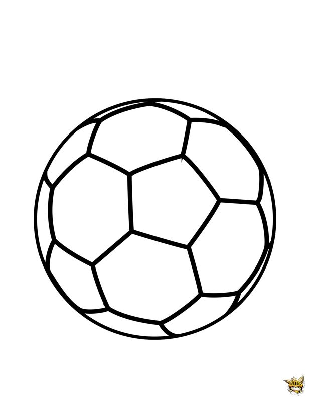 Ballon De Foot Coloriage Coloriage Ballon Coloriage Football