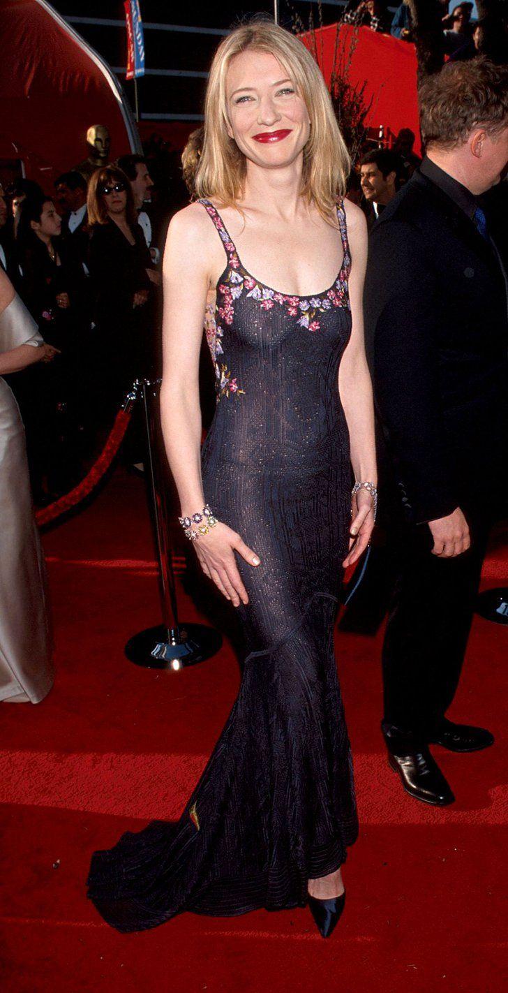 Cate Blanchett 1999 Red Carpet Gowns Best Oscar Dresses Oscar Dresses