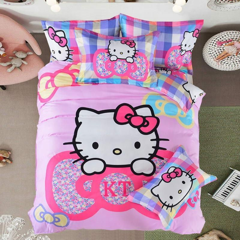 This Is A Great Hit Home Textiles Bed Its On Sale Http Jagmohansabharwal Myshopify Com Products Home Duvet Bedding Sets Hello Kitty Bed Full Duvet Cover