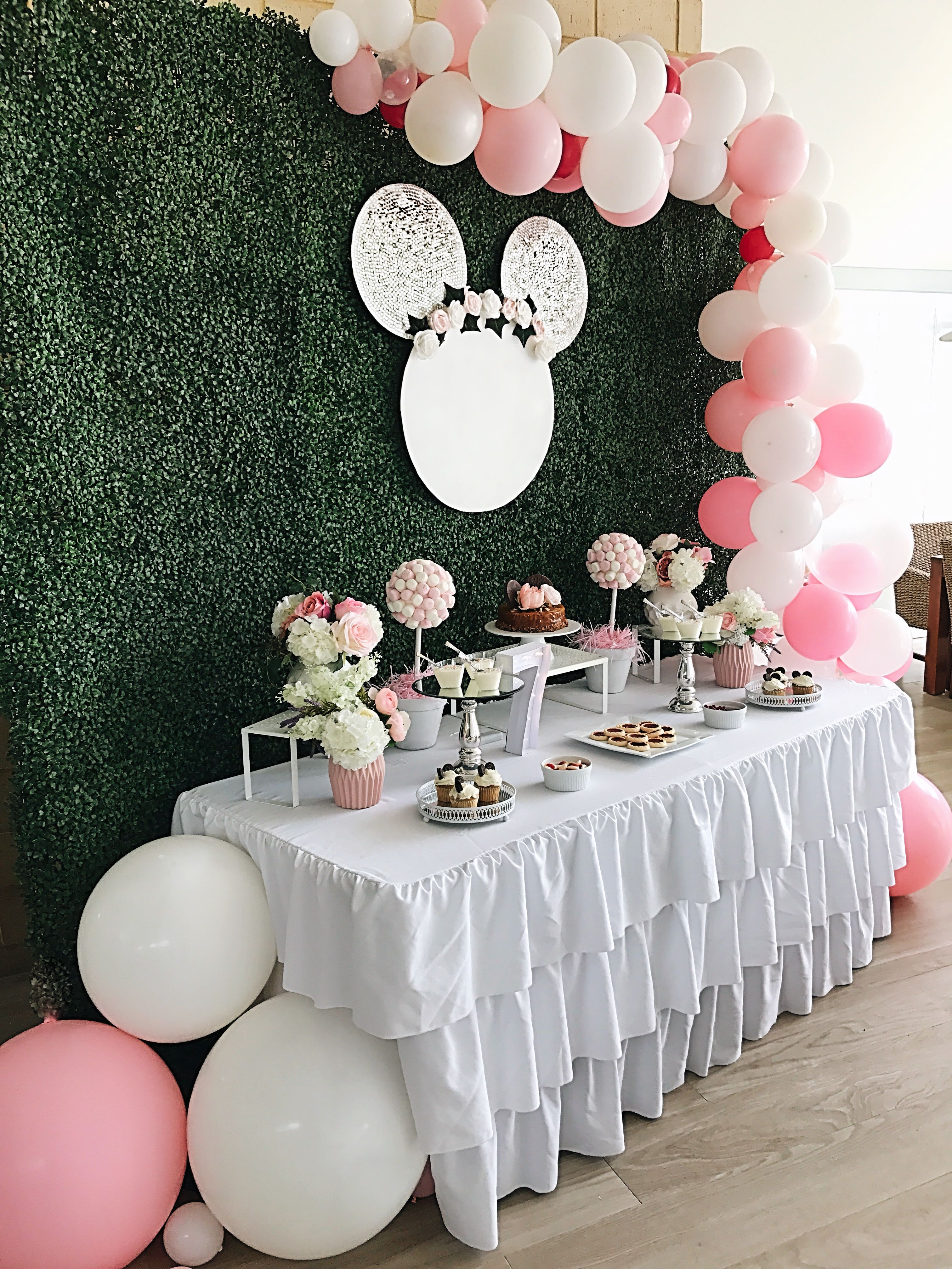 Minnie Mouse Party Backdrop Stylish Soirees In Perth Minnie