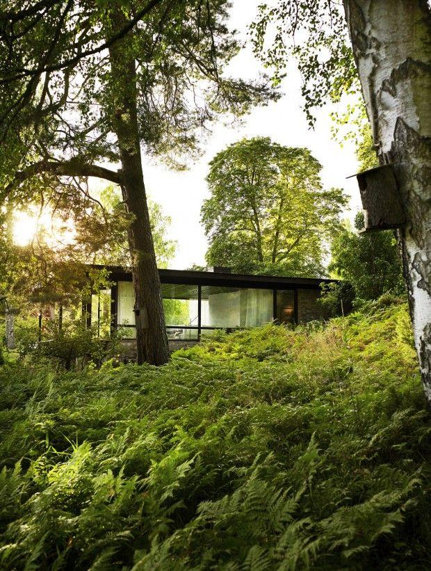 The Lundnäs House, maison du0027été de lu0027architecte Delin Arkitektkontor - site pour construire sa maison