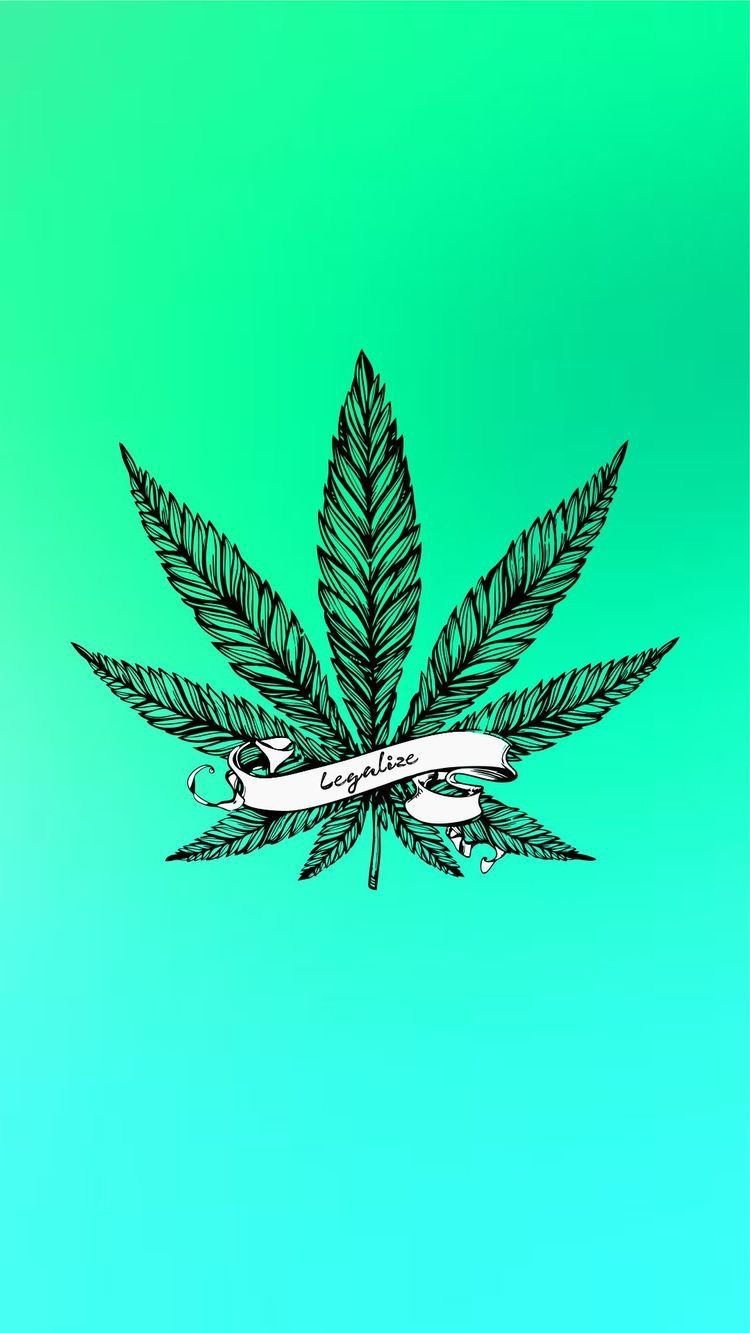 Weed Wallpaper Cannabis Iphone Phone Backgrounds Funny Pictures