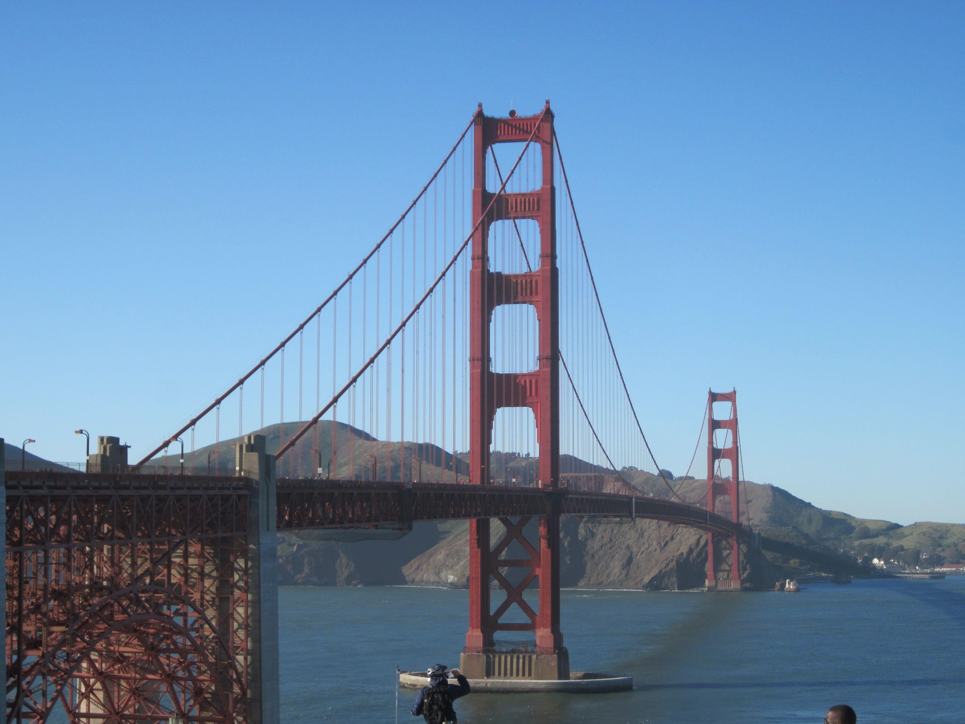 Golden Gate Bridge. San Francisco,