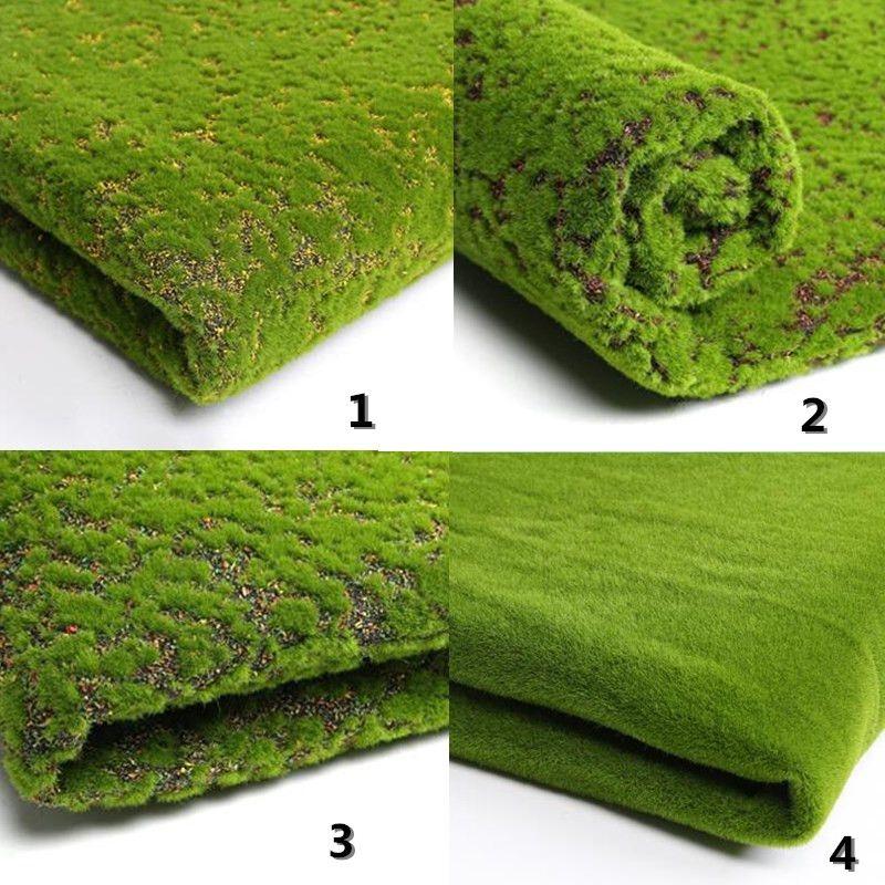 50 x 50cm Micro Landscape Hang Artificial Moss Grass Lawn