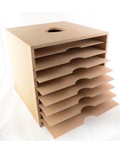 Paper box muebles para guardar papeles manresa scrap - Muebles para almacenar ...
