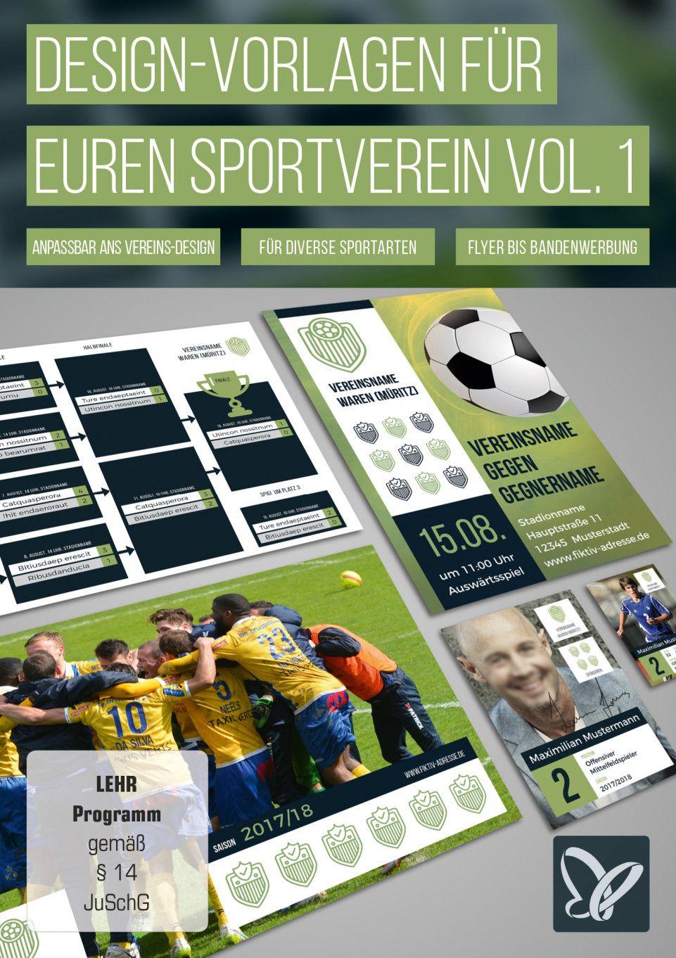 Designs Fur Sportvereine Turnierplan Erstellen Sammelkarten Sportverein Mannschaftsfotos Verein