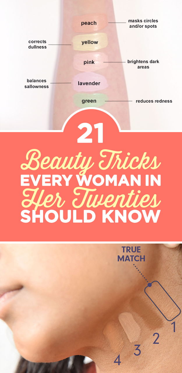 9 Hair And Makeup Hacks Every Woman Should Know  Beauty tips for