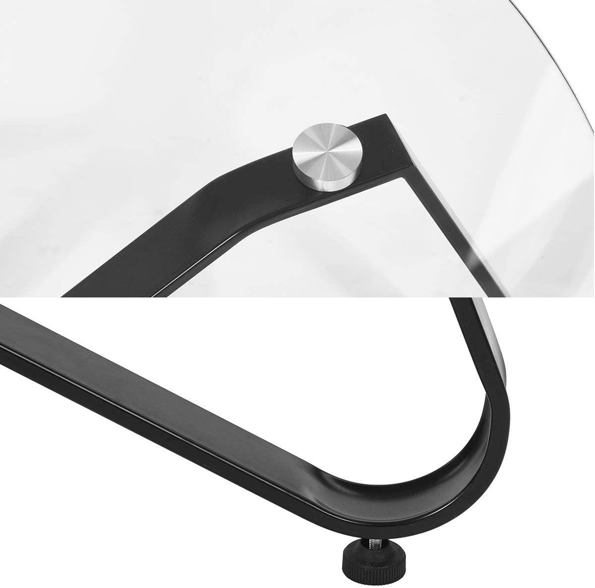 Table Basse En Verre Trempe Table De Salon Table De Canape Minimaliste Moderne In 2020 Table Design Design Habitats