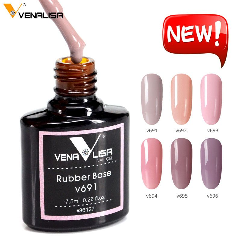 Venalisa Camouflage Natural Color Rubber Base And Top Coat Nail Polish Gel Nails Gel Nail Polish