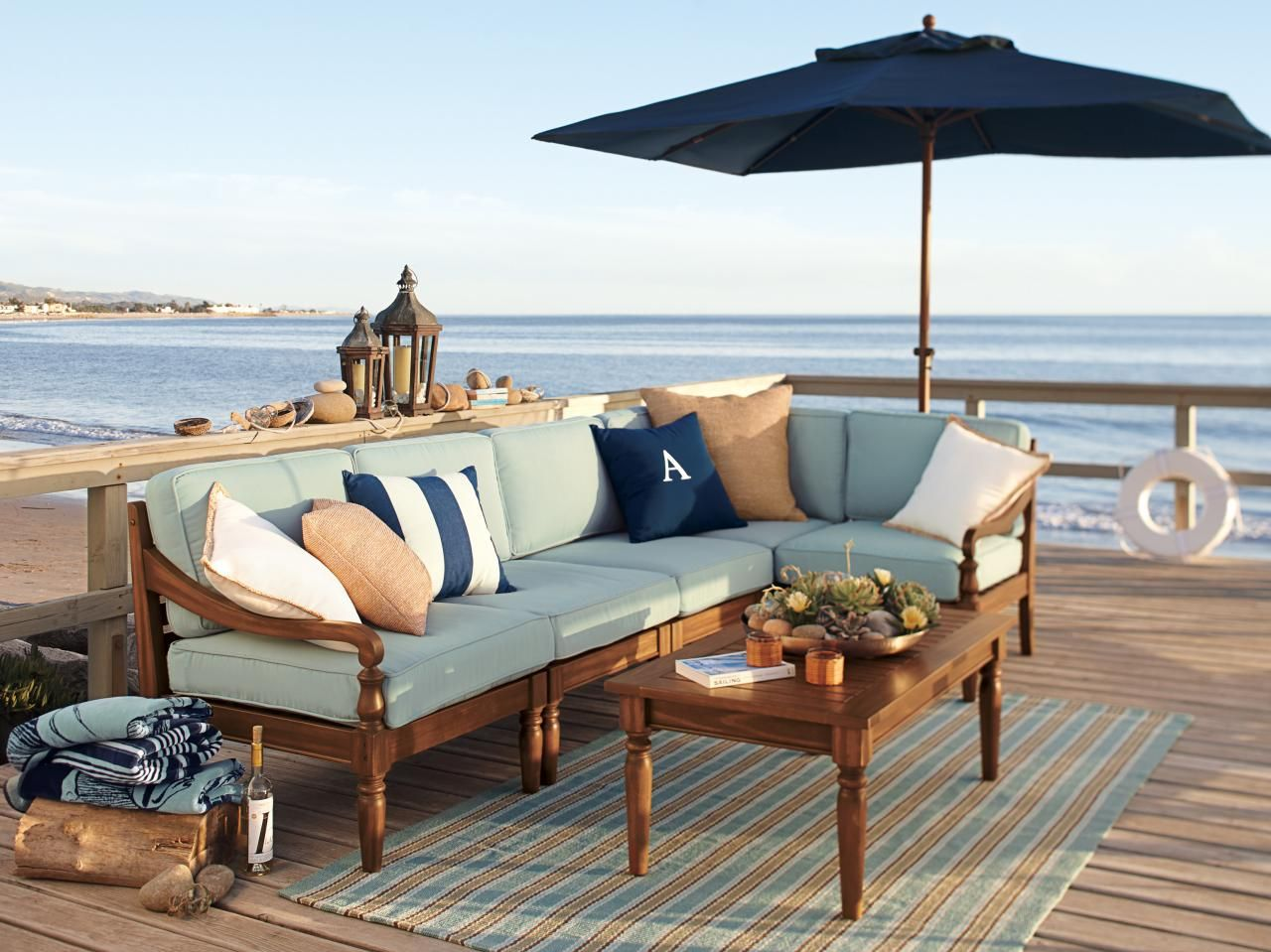 Nautical · Outdoor UmbrellasLarge ...
