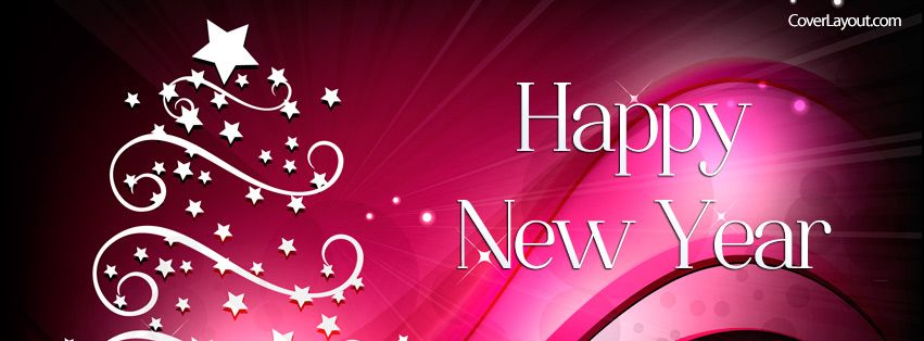 happy new year facebook cover coverlayoutcom