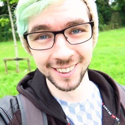 JackSepticEye. I have a fetish for guys in glasses and when he said he got glasses I was like: OMFGHHHHHH ARGHHHHHHHHHHHGG HELP ME!!!!!!!