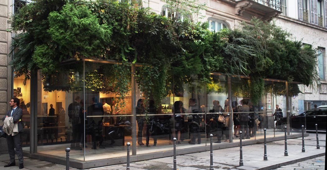 Image result for giardini pensili trussardi caffè downtown at the