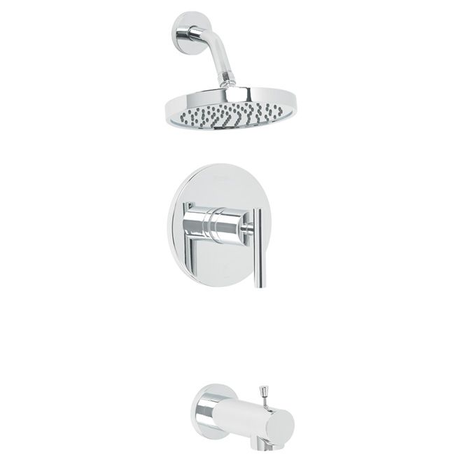 "Fullerton"" Single Handle Tub And Shower Faucet  Rona  Bathroom Entrancing Pfister Bathroom Faucet Decorating Inspiration"
