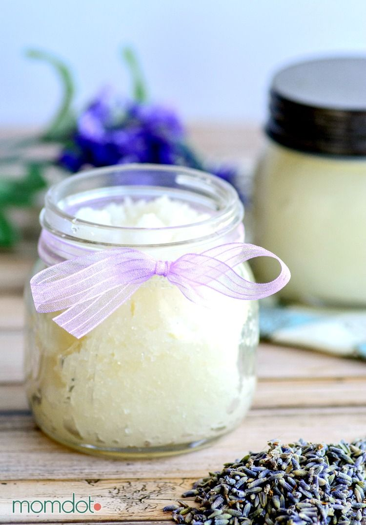 DIY Edible Brown Sugar Lip Scrub with Honey and Coconut