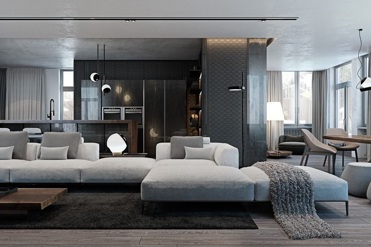 A Modern Flat With Striking Texture And Dark Styling Luxury Apartment Decor Luxury Home Decor Luxury Apartments