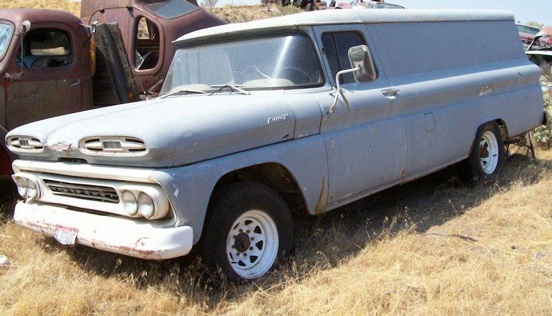 Vintage Chevrolet Panel Truck Classic Cars Trucks Classic Chevy Trucks