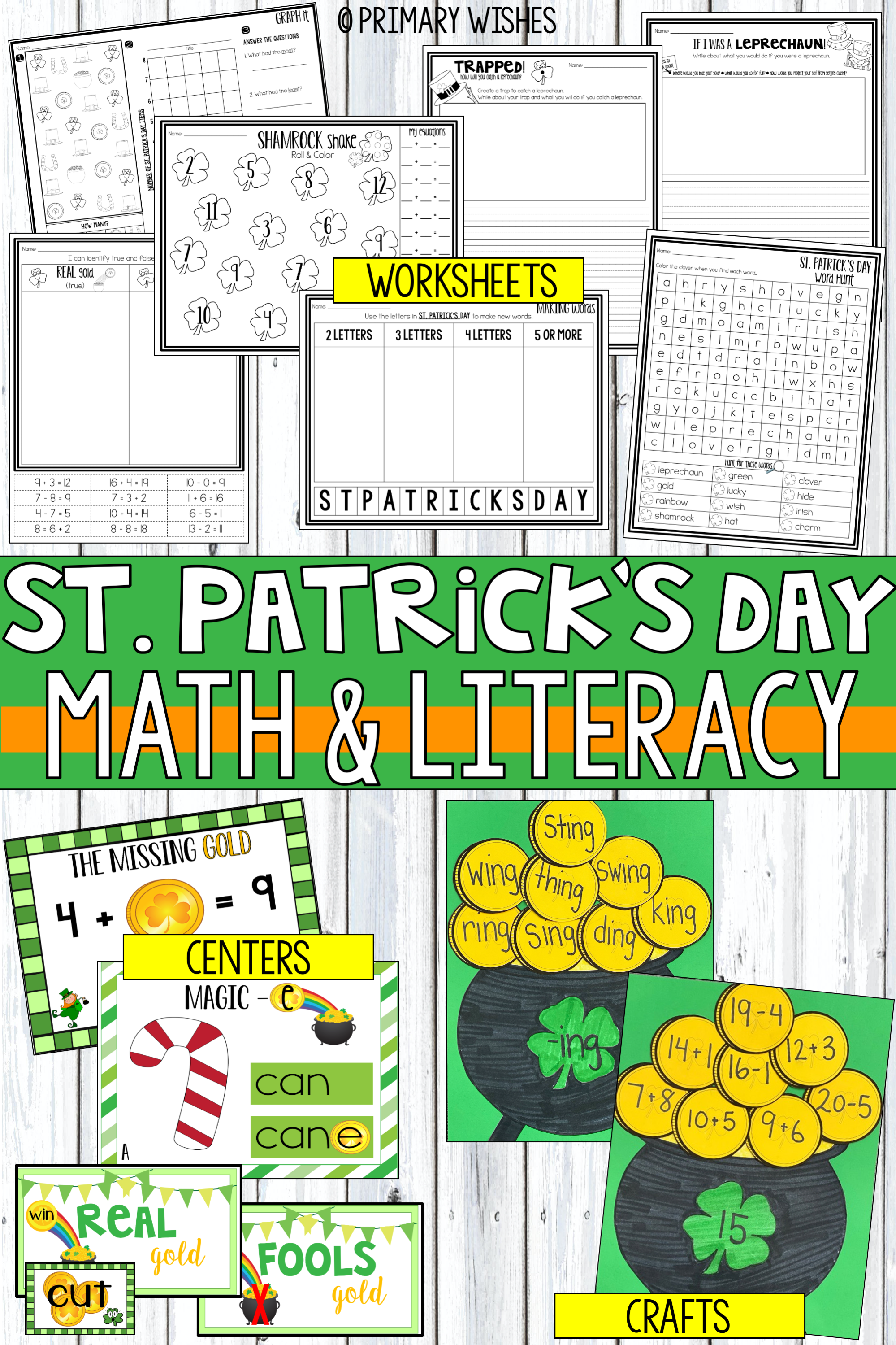 St Patrick S Day Activities In