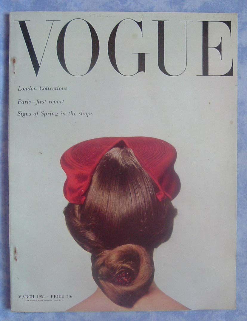 vogue cover - 1951_mar.