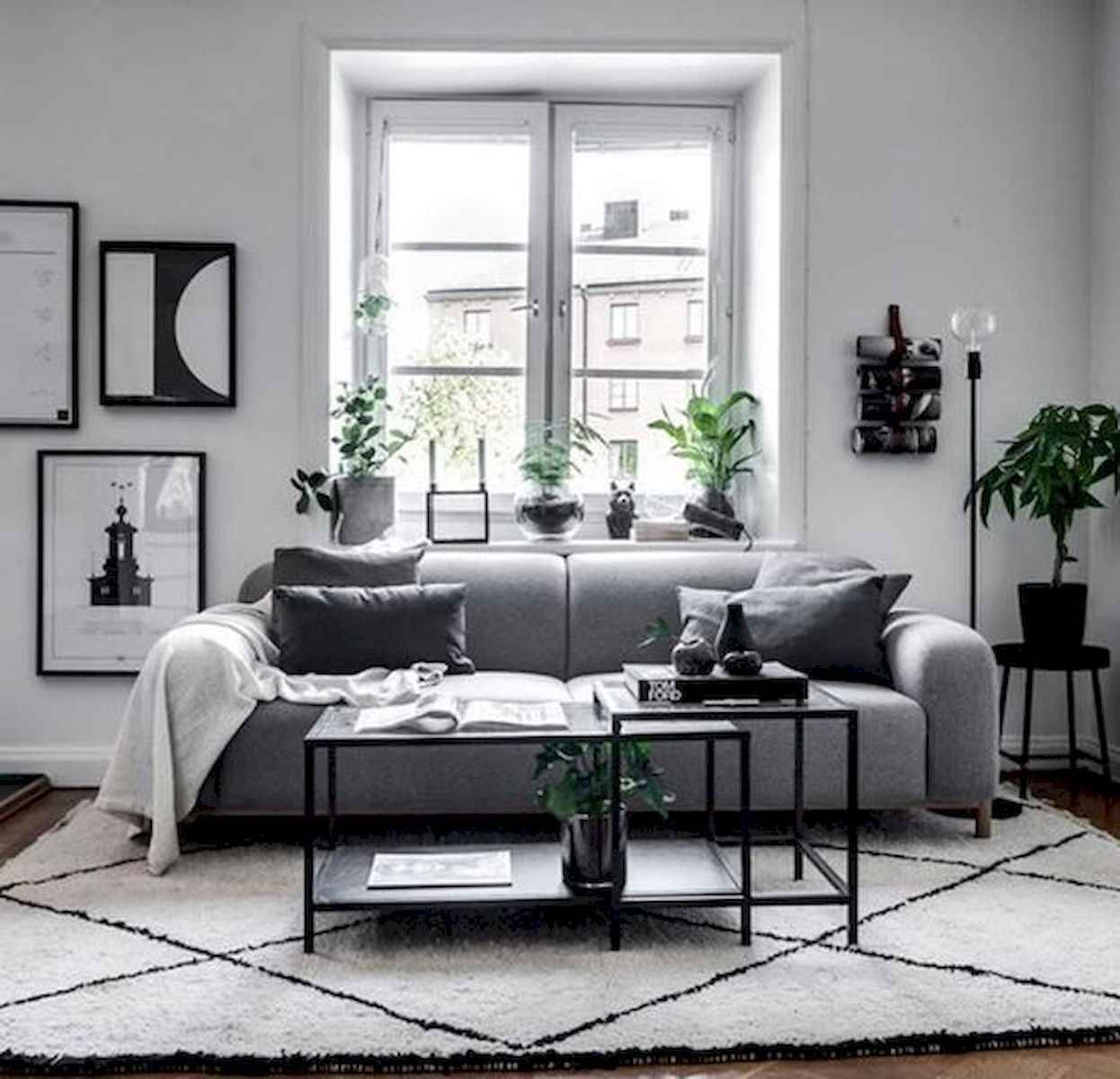 Decorating your living room properly will. 70 Stunning Grey White Black Living Room Decor Ideas And ...