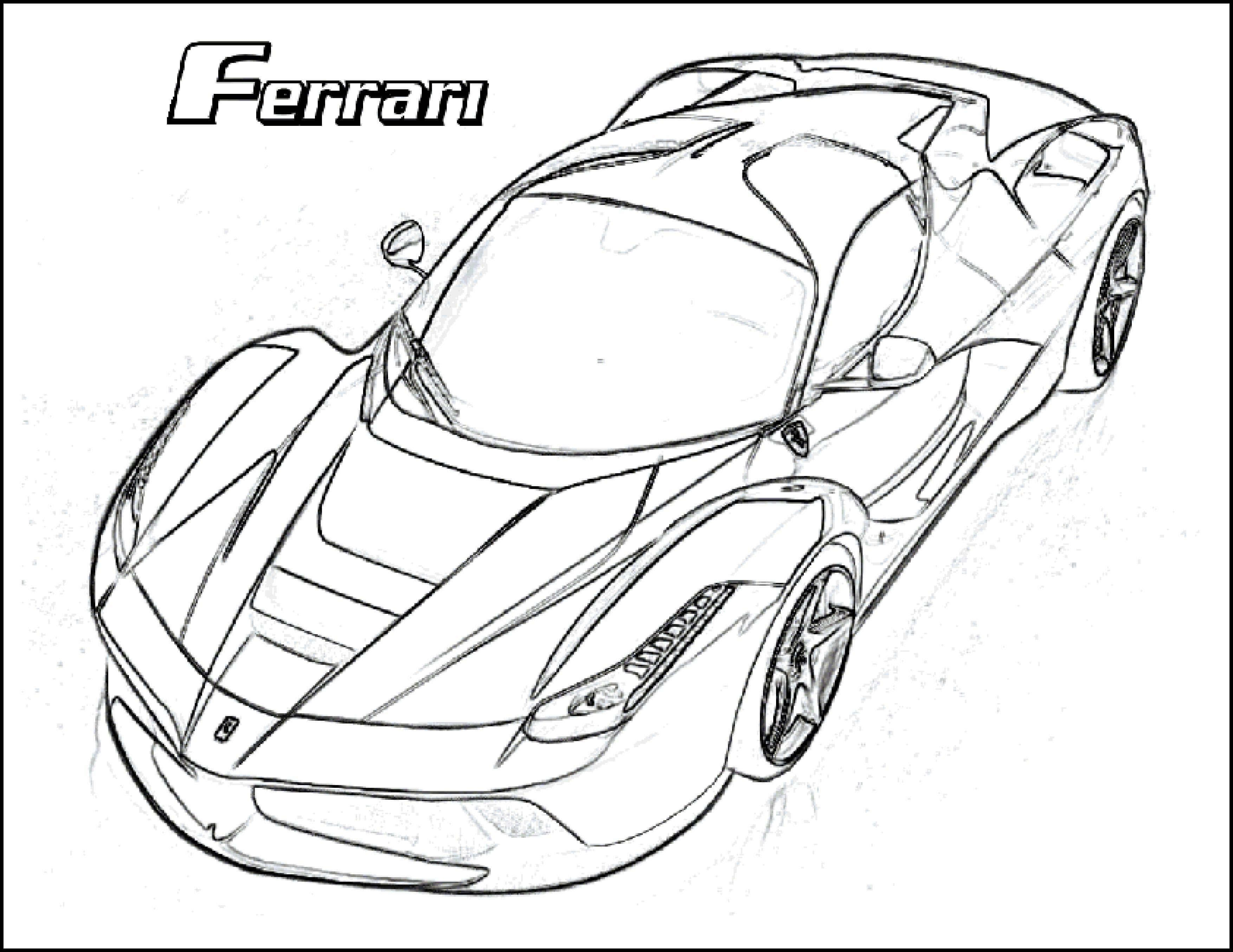Best Sport Car Coloring Pages In Hd Resolution Miranda