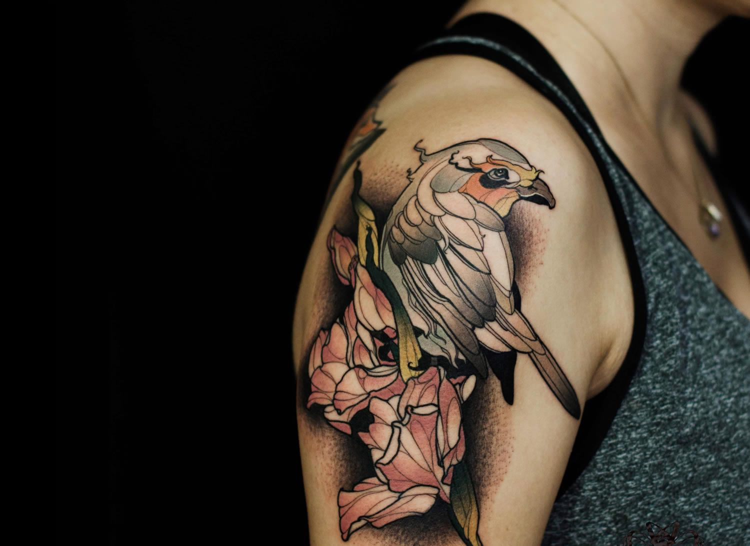 Tattoos Fuse Fine Art with Polygons by Renan Batista | Illusion Magazine