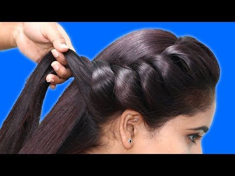 quick & easy juda hairstyle for girls    2 minute juda hairstyle    cute hairstyle #hairstyles ...