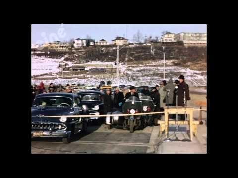 Opening of the Groat Bridge, Edmonton, 1955