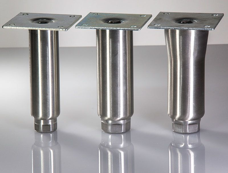 300 Series Food Grade Stainless Steel Furniture Legs For Commercial And  Industrial Furniture, Tables,
